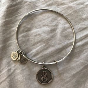 """S"" Alex and Ani bracelet"